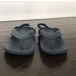 CROCS slipper sandals size 10